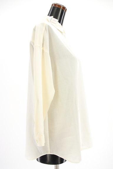 Spick and Span(スピック&スパン)の古着「シンプルロングシャツ(カジュアルシャツ)」大画像4へ
