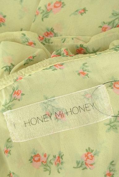 HONEY MI HONEY(ハニーミーハニー)の古着「小花柄シフォンフリルブラウス(ブラウス)」大画像6へ