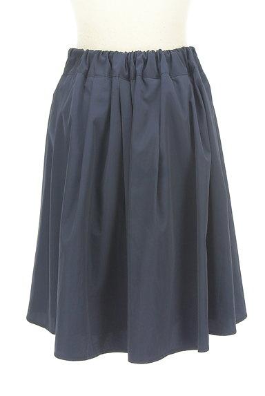 NATURAL BEAUTY BASIC(ナチュラルビューティベーシック)の古着「微光沢膝丈フレアスカート(スカート)」大画像2へ