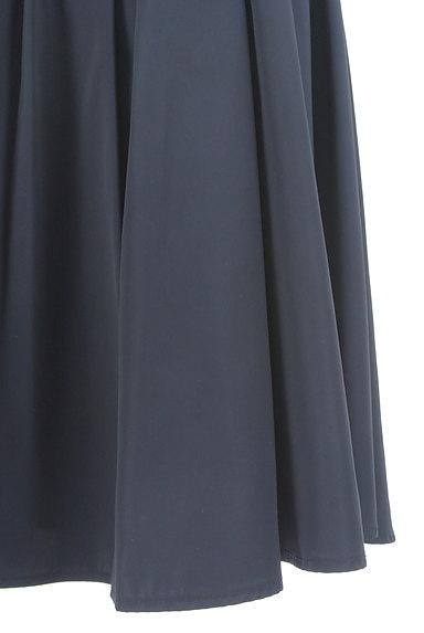 NATURAL BEAUTY BASIC(ナチュラルビューティベーシック)の古着「微光沢膝丈フレアスカート(スカート)」大画像5へ
