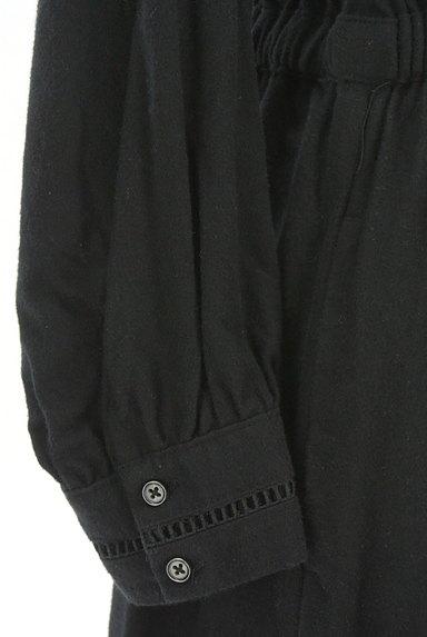 studio CLIP(スタディオクリップ)の古着「透かし編み刺繍ラインロングワンピース(ワンピース・チュニック)」大画像5へ