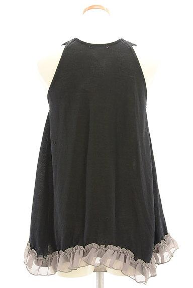axes femme(アクシーズファム)の古着「蝶刺繍フリルタンクトップ(キャミソール・タンクトップ)」大画像2へ