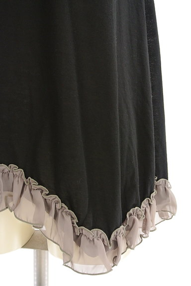 axes femme(アクシーズファム)の古着「蝶刺繍フリルタンクトップ(キャミソール・タンクトップ)」大画像5へ