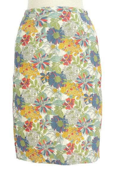 NATURAL BEAUTY BASIC(ナチュラルビューティベーシック)の古着「モダンボタニカル柄スカート(スカート)」大画像1へ