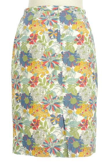 NATURAL BEAUTY BASIC(ナチュラルビューティベーシック)の古着「モダンボタニカル柄スカート(スカート)」大画像2へ