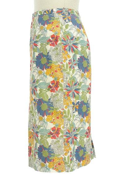 NATURAL BEAUTY BASIC(ナチュラルビューティベーシック)の古着「モダンボタニカル柄スカート(スカート)」大画像3へ