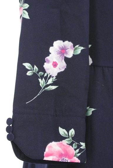 MISCH MASCH(ミッシュマッシュ)の古着「七分袖花柄ワンピース(ワンピース・チュニック)」大画像4へ