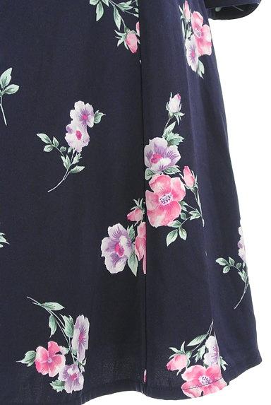 MISCH MASCH(ミッシュマッシュ)の古着「七分袖花柄ワンピース(ワンピース・チュニック)」大画像5へ