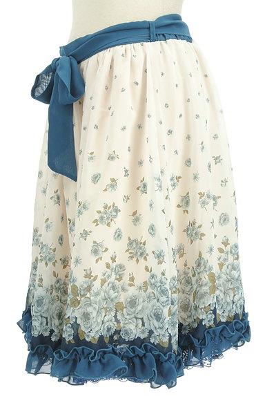 axes femme(アクシーズファム)の古着「花柄シフォンフリルスカート(スカート)」大画像3へ
