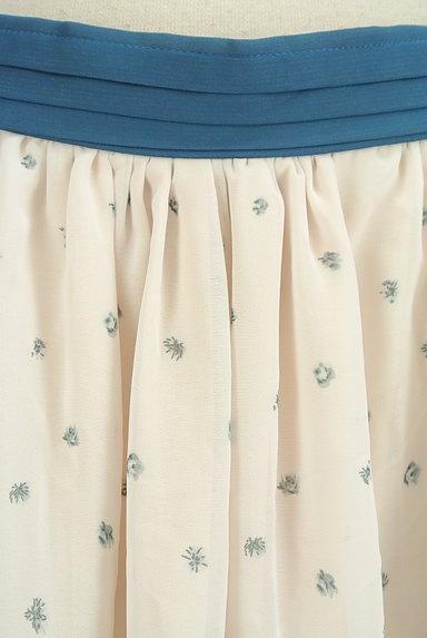 axes femme(アクシーズファム)の古着「花柄シフォンフリルスカート(スカート)」大画像4へ