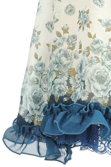 axes femme(アクシーズファム)の古着「花柄シフォンフリルスカート(スカート)」大画像5へ