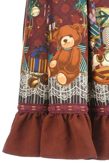 axes femme(アクシーズファム)の古着「クリスマス柄フレアリボンスカート(スカート)」大画像5へ