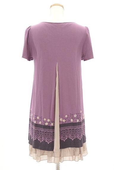 axes femme(アクシーズファム)の古着「裾シフォンアリスワンピース(ワンピース・チュニック)」大画像2へ