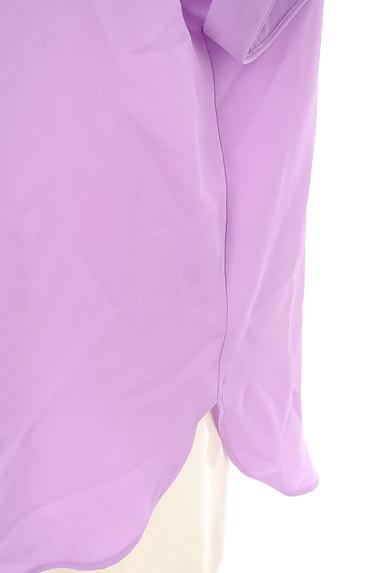 LOUNIE(ルーニィ)の古着「スキッパーカラーシャツカットソー(カットソー・プルオーバー)」大画像5へ