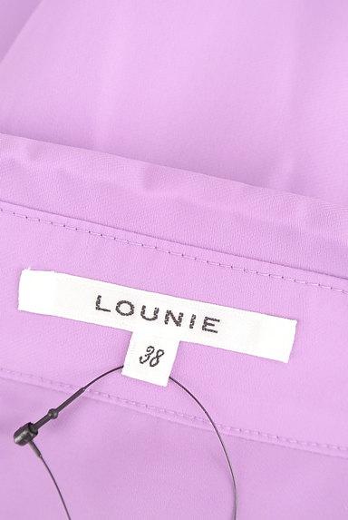 LOUNIE(ルーニィ)の古着「スキッパーカラーシャツカットソー(カットソー・プルオーバー)」大画像6へ