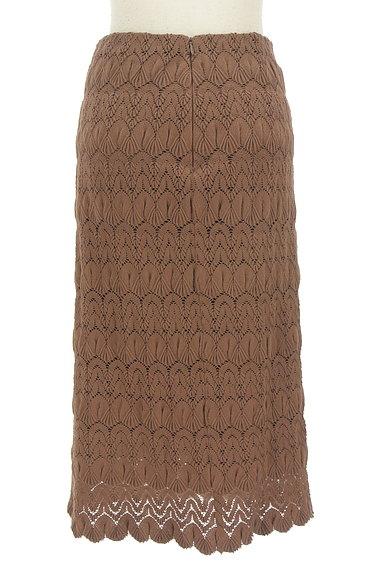 LOUNIE(ルーニィ)の古着「タイト刺繍ミモレスカート(ロングスカート・マキシスカート)」大画像2へ