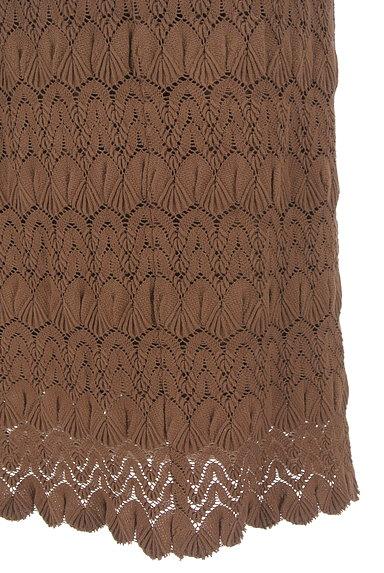 LOUNIE(ルーニィ)の古着「タイト刺繍ミモレスカート(ロングスカート・マキシスカート)」大画像5へ