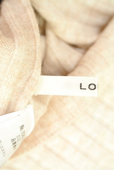 LOUNIE(ルーニィ)の古着「袖メッシュタートルリブニットワンピ(ワンピース・チュニック)」大画像6へ