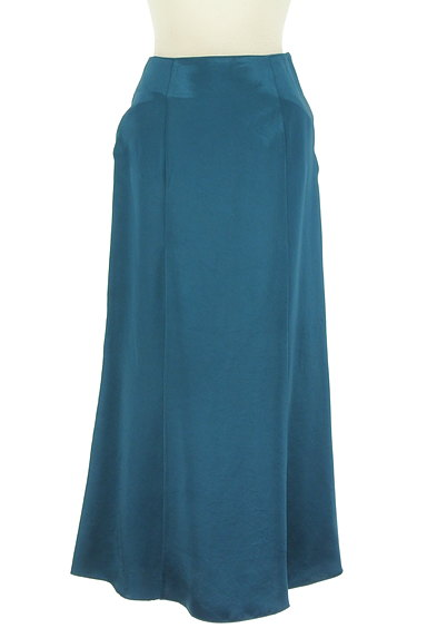 LOUNIE(ルーニィ)の古着「サテン調ロングスカート(ロングスカート・マキシスカート)」大画像1へ