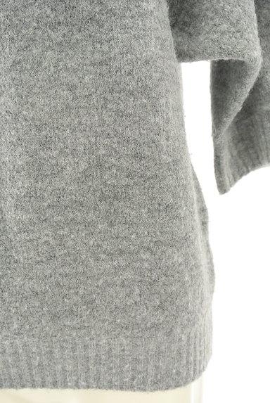 INED(イネド)の古着「ドルマン7分袖もちふわニット(ニット)」大画像4へ