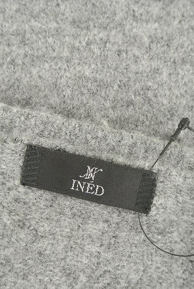 INED(イネド)の古着「ドルマン7分袖もちふわニット(ニット)」大画像6へ
