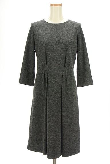 Reflect(リフレクト)の古着「7分袖タックロングワンピース(ワンピース・チュニック)」大画像1へ