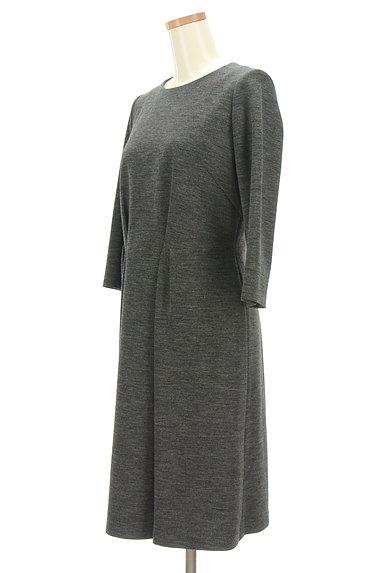 Reflect(リフレクト)の古着「7分袖タックロングワンピース(ワンピース・チュニック)」大画像3へ