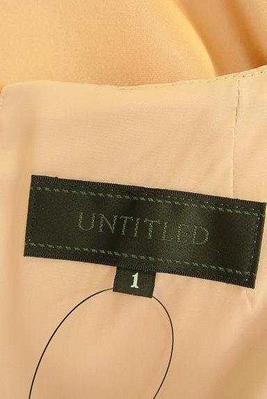 UNTITLED(アンタイトル)の古着「シャイニードレープワンピース(ワンピース・チュニック)」大画像6へ