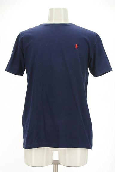 Polo Ralph Lauren(ポロラルフローレン)の古着「ロゴ刺繍ベーシックTシャツ(Tシャツ)」大画像1へ