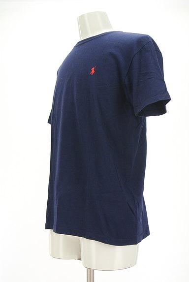Polo Ralph Lauren(ポロラルフローレン)の古着「ロゴ刺繍ベーシックTシャツ(Tシャツ)」大画像3へ