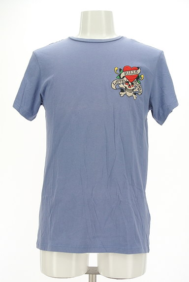 ED HARDY(エドハーディ)の古着「ロゴ&スカル刺繍Tシャツ(Tシャツ)」大画像1へ