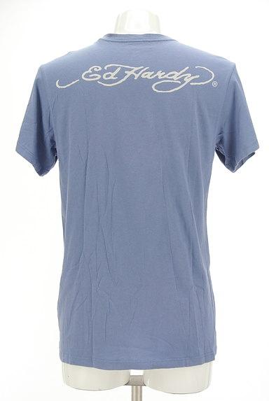 ED HARDY(エドハーディ)の古着「ロゴ&スカル刺繍Tシャツ(Tシャツ)」大画像2へ