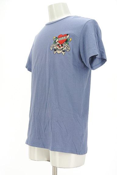 ED HARDY(エドハーディ)の古着「ロゴ&スカル刺繍Tシャツ(Tシャツ)」大画像3へ
