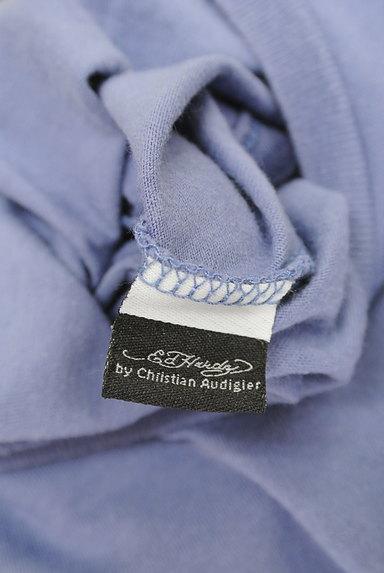 ED HARDY(エドハーディ)の古着「ロゴ&スカル刺繍Tシャツ(Tシャツ)」大画像6へ