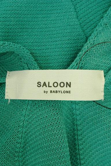 BABYLONE(バビロン)の古着「バックタックサマーニット(ニット)」大画像6へ