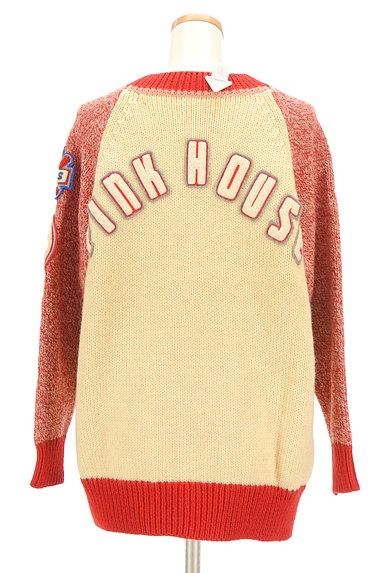 PINK HOUSE(ピンクハウス)の古着「ラグランワッペンカーディガン(カーディガン・ボレロ)」大画像4へ
