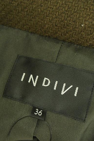 INDIVI(インディヴィ)の古着「Aラインショートコート(コート)」大画像6へ