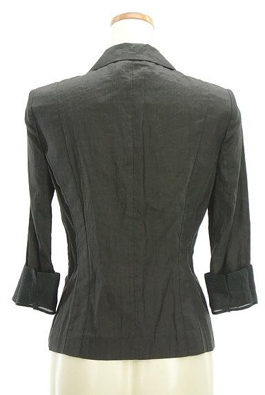COMME CA DU MODE(コムサデモード)の古着「7分袖リネンテーラードジャケット(ジャケット)」大画像2へ