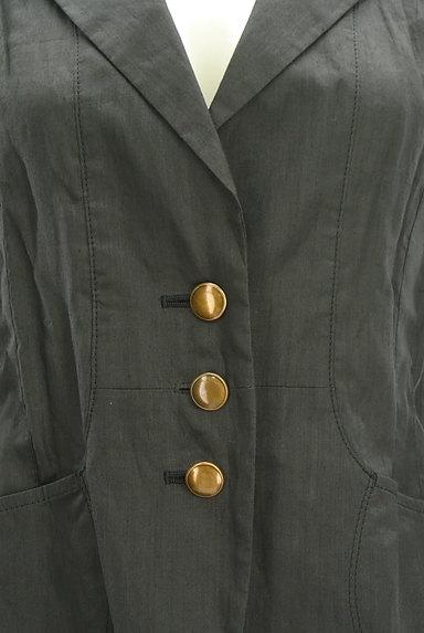 COMME CA DU MODE(コムサデモード)の古着「7分袖リネンテーラードジャケット(ジャケット)」大画像4へ