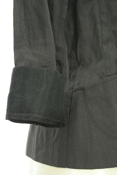 COMME CA DU MODE(コムサデモード)の古着「7分袖リネンテーラードジャケット(ジャケット)」大画像5へ