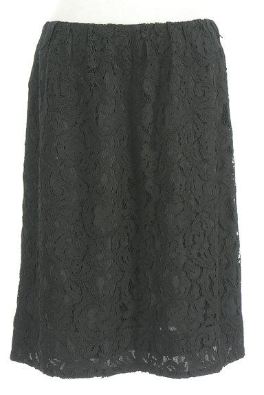 LOUNIE(ルーニィ)の古着「膝丈総レーススカート(スカート)」大画像1へ