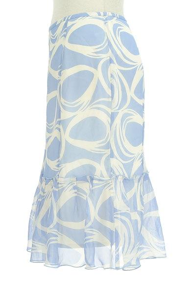 COUP DE CHANCE(クードシャンス)の古着「膝下丈裾フリルシフォンスカート(スカート)」大画像3へ
