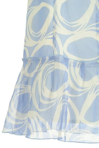COUP DE CHANCE(クードシャンス)の古着「膝下丈裾フリルシフォンスカート(スカート)」大画像5へ