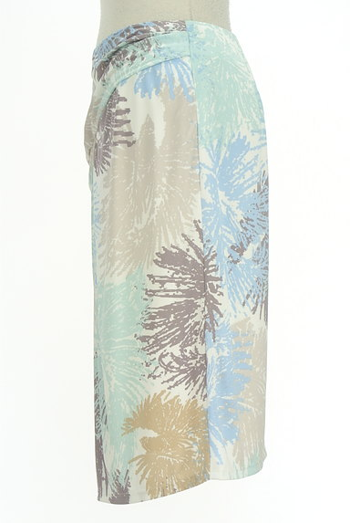 COUP DE CHANCE(クードシャンス)の古着「ミディ丈リゾート柄スカート(スカート)」大画像3へ