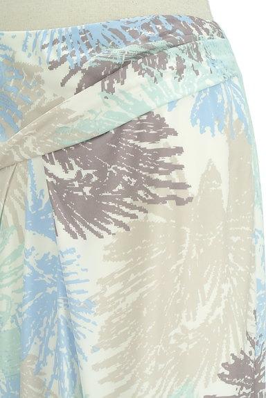 COUP DE CHANCE(クードシャンス)の古着「ミディ丈リゾート柄スカート(スカート)」大画像4へ