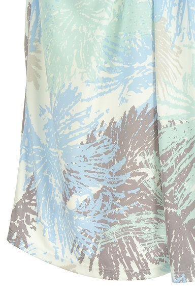 COUP DE CHANCE(クードシャンス)の古着「ミディ丈リゾート柄スカート(スカート)」大画像5へ