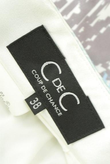 COUP DE CHANCE(クードシャンス)の古着「ミディ丈リゾート柄スカート(スカート)」大画像6へ
