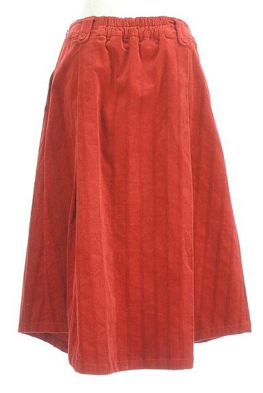 Jocomomola(ホコモモラ)の古着「ミモレ丈コーデュロイフレアスカート(スカート)」大画像2へ