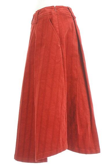 Jocomomola(ホコモモラ)の古着「ミモレ丈コーデュロイフレアスカート(スカート)」大画像3へ