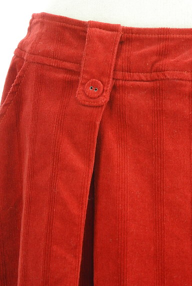 Jocomomola(ホコモモラ)の古着「ミモレ丈コーデュロイフレアスカート(スカート)」大画像4へ